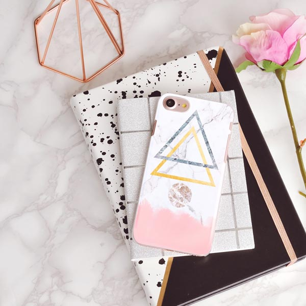 Marble Paradise iPhone Case